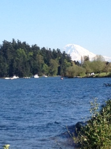 The hills might not be as steep as Mt. Rainer...but some days they feel that way.