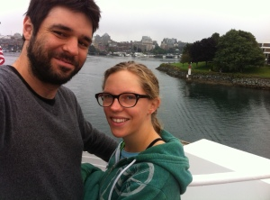 On the Ferry Boat Leaving Victoria, B.C.